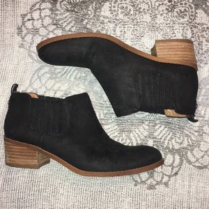 Ripley black leather Tommy Hilfiger booties